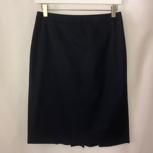 J. Crew pencil skirt, navy blue, NWOT, style 23529